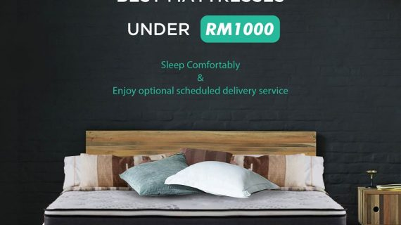 Comfortable Sleep with FurnitureDirect Malaysia , Starts from only RM544 + FREE BedFrame